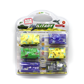 New arrival mini plastic tank toy military project kid toy car pull back tank toys