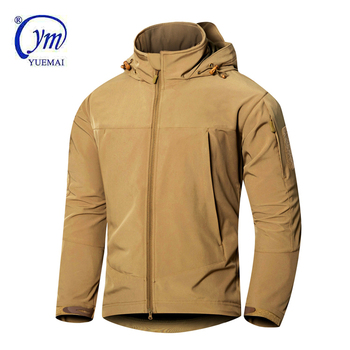Custom design softshell military tactical us army winter soft shell jacket wholesale