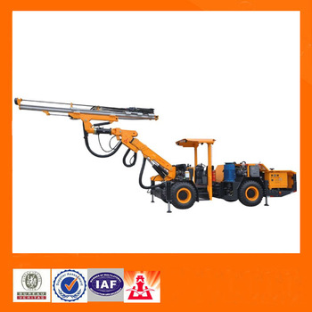 ONE Boom Wheel Jumbo Rock Drill