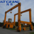 China Rubber tyred gantry crane factory