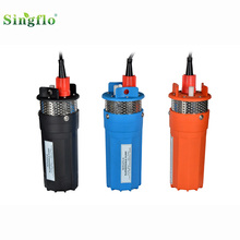 Singflo 12V 24V DC <strong>Brush</strong> Submersible agriculture Solar Water Pump System