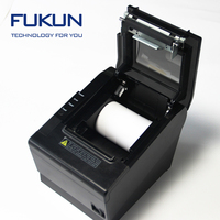 Fast printing speed 80MM USB with black and white style Printer