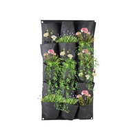 Waterproof Flower Vegetables Vertical Garden Wall Hanging Planter Felt Plant Grow Bag
