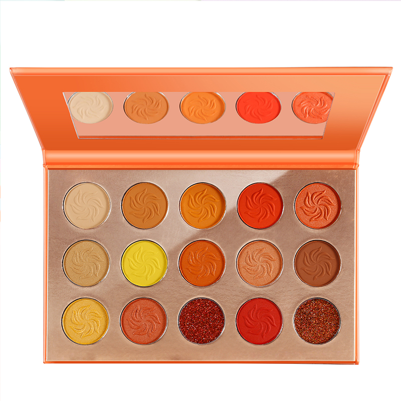 <strong>Cosmetics</strong> Makeup 15 Color High Pigment Eyeshadow Palette Private Label