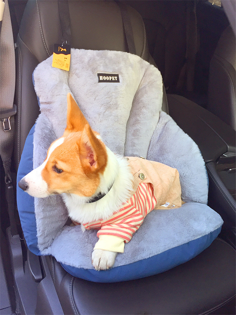Multi-function Warm Comfortable Safety Belt dog car mat removable and washable Out Trip Car Seat Dog Beds Kennel Nest