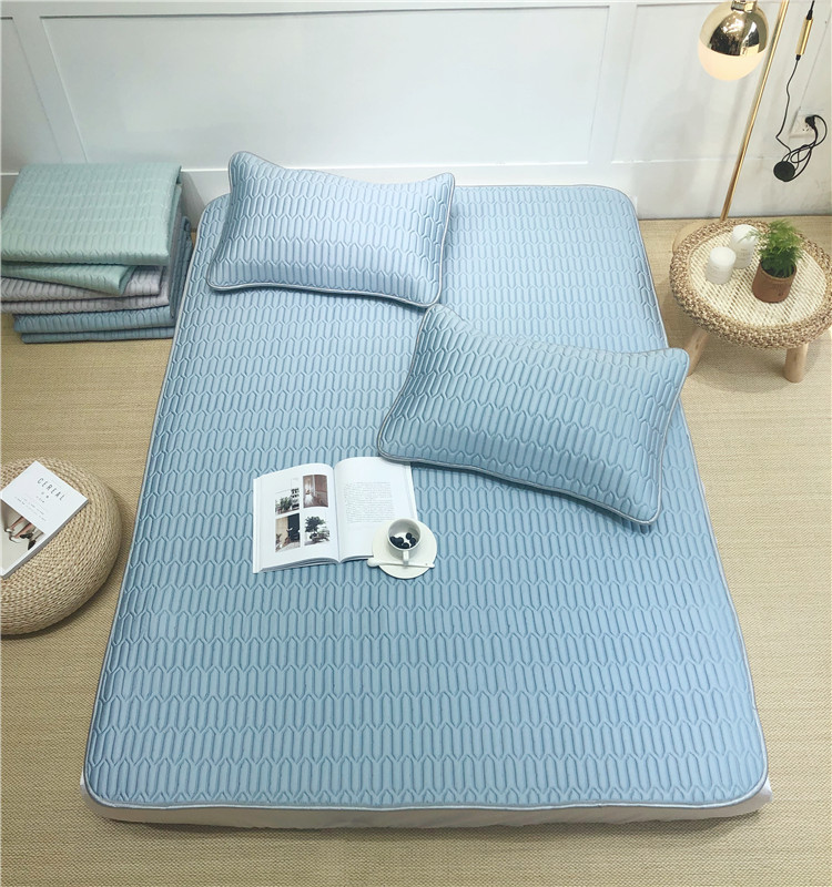 Luxury 60s 3pcs cooling tencel mat futon latex mattress - Jozy Mattress | Jozy.net