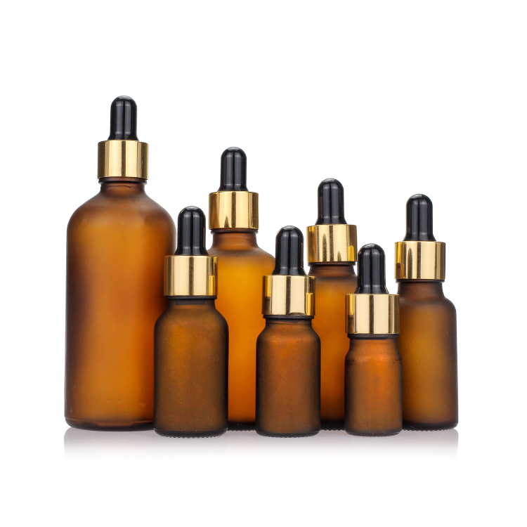 5ml 10ml 15ml 20ml 30ml 50ml 100ml Amber Hot Stamping Empty Glass Dropper Essential Oil <strong>Bottle</strong>