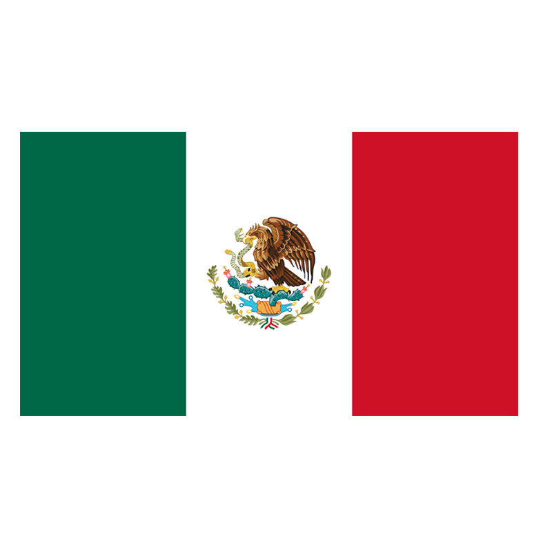 Advertising <strong>Trade</strong> show printed Mexico nation flag printing banner