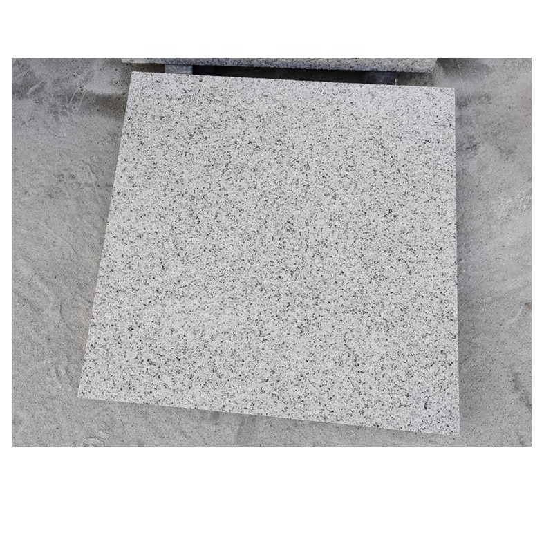 Classical G623 bush-hammered grey granite floor for outer