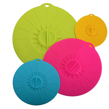 Oven Microwave Dishwasher Safe Creative Watertight Healthy Food Grade Silicone Suction Cover
