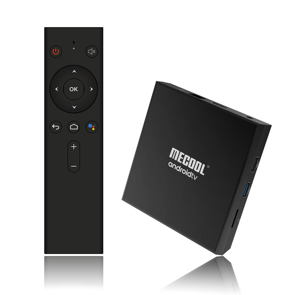Mecool KM9 Pro Classic Console Amlogic S905X2 Android 9.0 2G 16G 4K Cast Chrome Voice Command Android TV Box