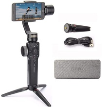 Zhiyun Smooth 4 3-Axis Handheld Gimbal Stabilizer <strong>w</strong>/Focus Pull &amp; Zoom For iPhone Android Smartphone