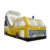 Bus Design Commercial Inflatable Slide Castle Bouncer Combo Big Yellow Bus Car Slides Playground For Kids