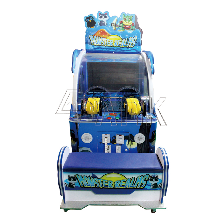 Kids Funny Games Monster Realms Ball Shooting game machine redemption arcade machine for sale