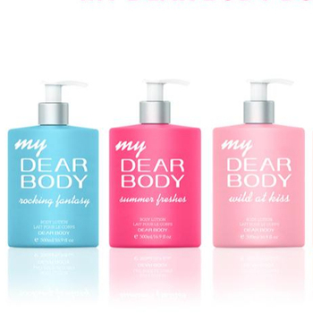 Dear Body 2017 Most Popular big bottle smooth shea butter cream hand and body lotion
