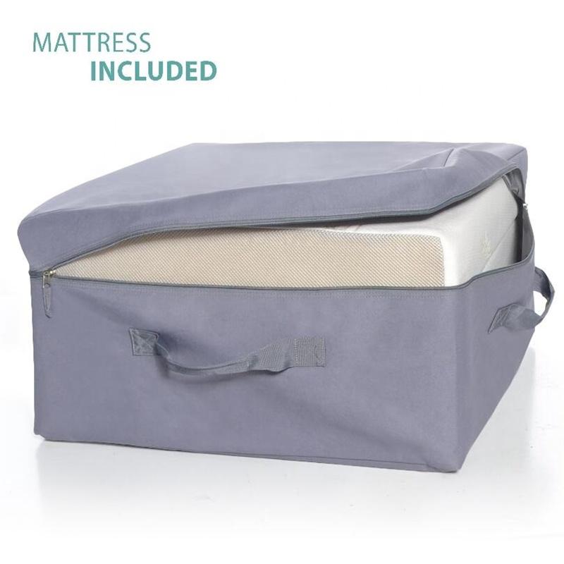 Easy to carry bag Fold Away Guest Portable Sleeper Cot Single Folding Bed Memory Foam Mattress - Jozy Mattress   Jozy.net
