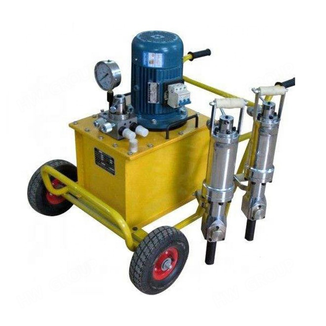 Hydraulic power darda <strong>c12</strong> pack rock splitter air