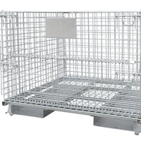 foldable stackable wire cage 40x48 senior wire basket