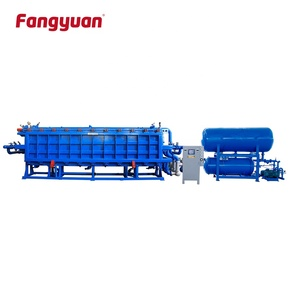 Fangyuan high efficiency eps foam roof construction insulated cement sandwich wall panel vacuum forming machine