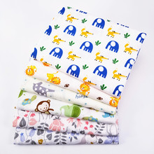 Cotton Children's Cartoon Series Twill <strong>Fabric</strong> Weight Wholesale In meters