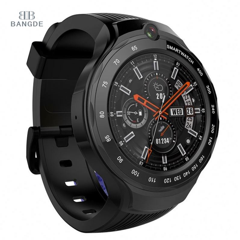 bd <strong>W100</strong> High end GPS 4G Android system smartwatch price of smart watch phone