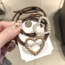 Korean Fashion <strong>Hair</strong> <strong>Accessories</strong> Pearl Hairband Women Girl Elastic Rubber <strong>Hair</strong> Band