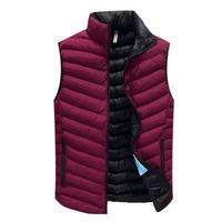 Latest Design Cotton Vest Padded Sleeveless Corrector Posture Mens Waistcoat