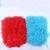 Microfiber chenille medium size car cleaning glove/car wash mitt glove