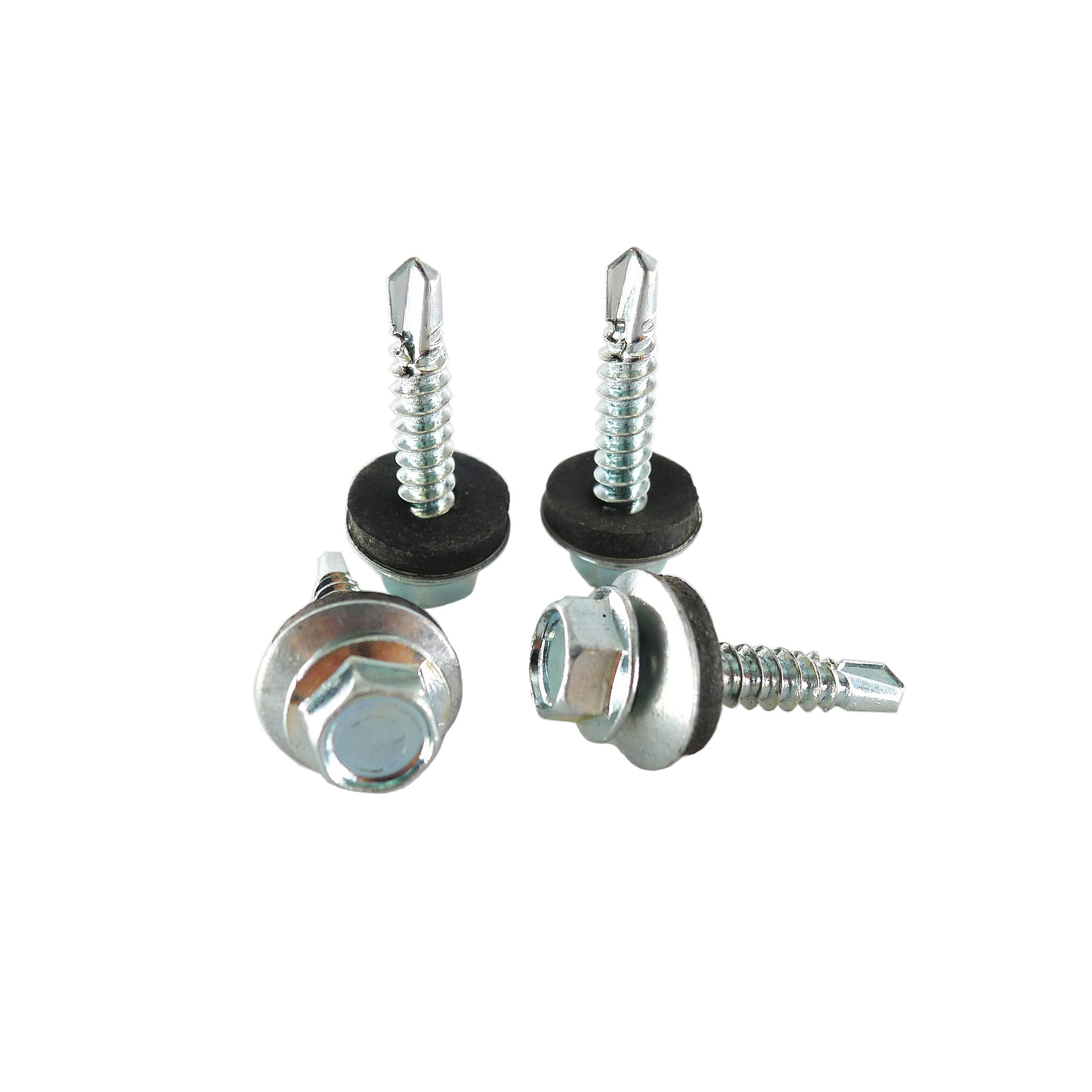 china products manufacturers Stainless <strong>Steel</strong> EPDM Bonded Self Drilling Washer Head Hex Screw hex head self drilling screw