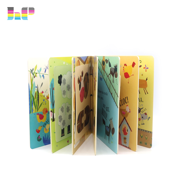 Custom glossy lamination Colorful Story Book Picture Kids Board Book Printing,glossy lamination colour printing card books for kids learning,it is wellcomed by kids