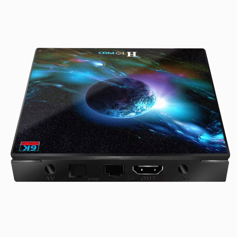 <strong>H10</strong> PRO set top box with Allwinner H603 Quad Core 64-bit Smart TV Box Dual WiFi