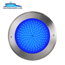 Private Mode 2019 Newest 8mm thickness 18W 12Vstainless steel swimming Pool Light IP68 LED under water light