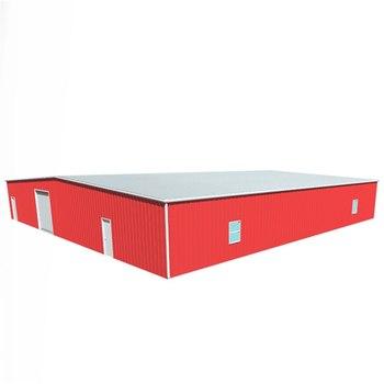 New design pole barn steel structure buildings gas station with best price