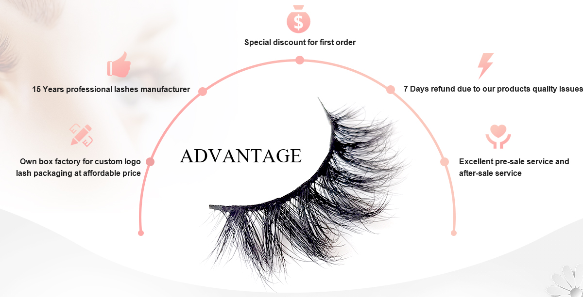 Silk Synthetic False Private Label Lashes 3D Faux Mink Eyelashes