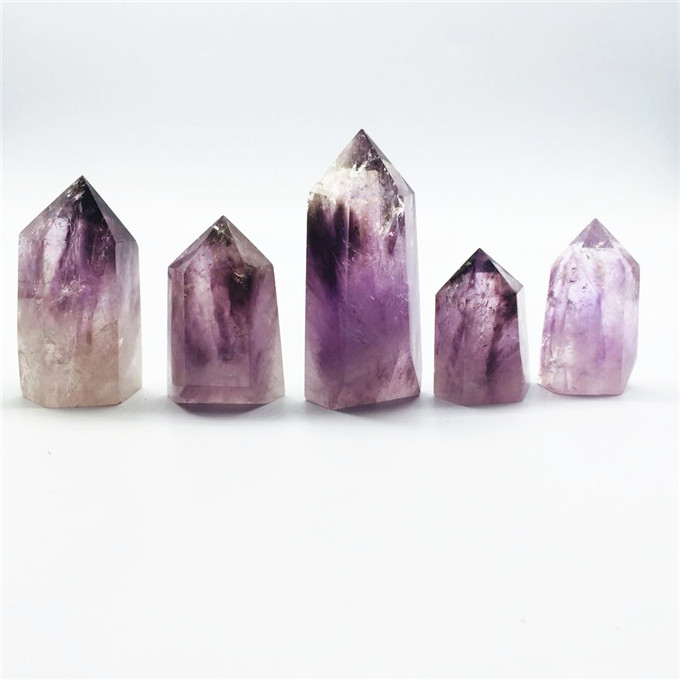 New Products Natural Smoky Amethyst <strong>Point</strong> For Healing