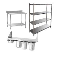 NSF Listing Different Size Stainless Steel Kitchen wall mount <strong>shelf</strong> for restaurant &amp; hotel