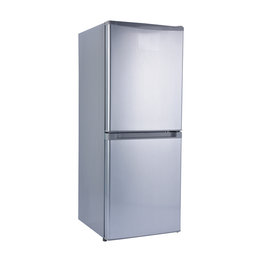 DC12/24V Portable Solar <strong>Appliance</strong> Bottom Freezer With Double Door Refrigerator for Home Use 168Liter