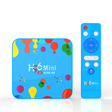 H96 MINI H6 Android 9.0 Smart TV BOX Quad Core 4G DDR3 32G EMMC ROM Set Top Box 6K 3D H.265 Wifi Media Player TV <strong>Receiver</strong>