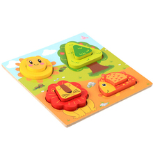 Colorful Christmas Gift 3D Wooden Puzzle <strong>Game</strong> For Kid