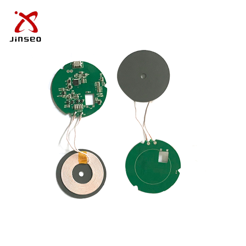 10W Single Coil QI Wireless Battery Charger <strong>Module</strong> PCB Assembly