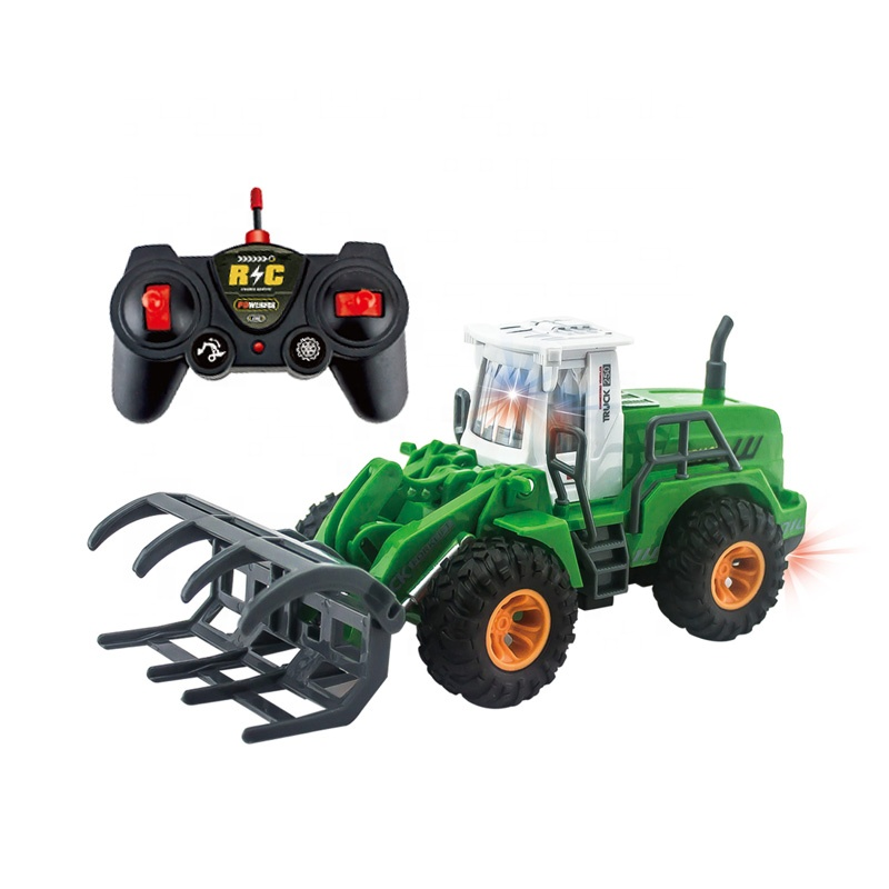 High quality 1:30 scale <strong>remote</strong> control plastic farm car toys tractor toy
