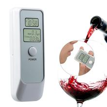 2019 Digital Breath Alcohol Tester Breath Alyzer Alcoholtest with Alcohol Clock Level Testing Car Safely Driving