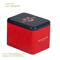 metal tin box for watch pack