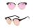 Free Sample New Product 2020 Fashion Round Women Sunglasses