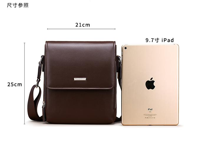 Factory Custom Design Fashion Mens Luxury Travel Shoulder Bags Crossbody Real Genuine Leather Messenger Bag For Men