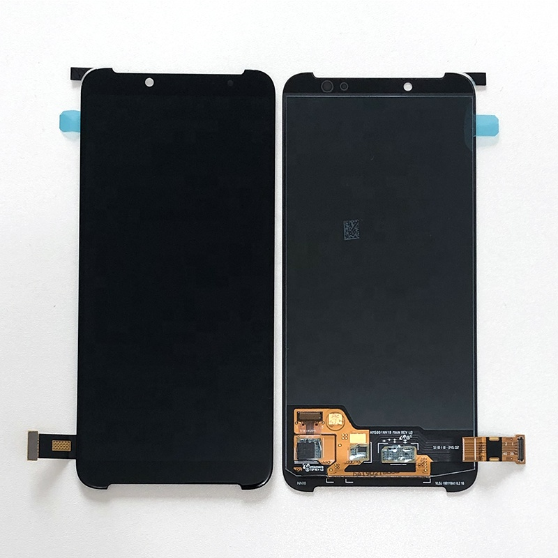6.01&quot; Original Amoled Touch Screen For Xiaomi Black Shark Helo AWM-<strong>A0</strong> LCD Screen <strong>Display</strong> Touch Panel Digitizer Assembly Repair