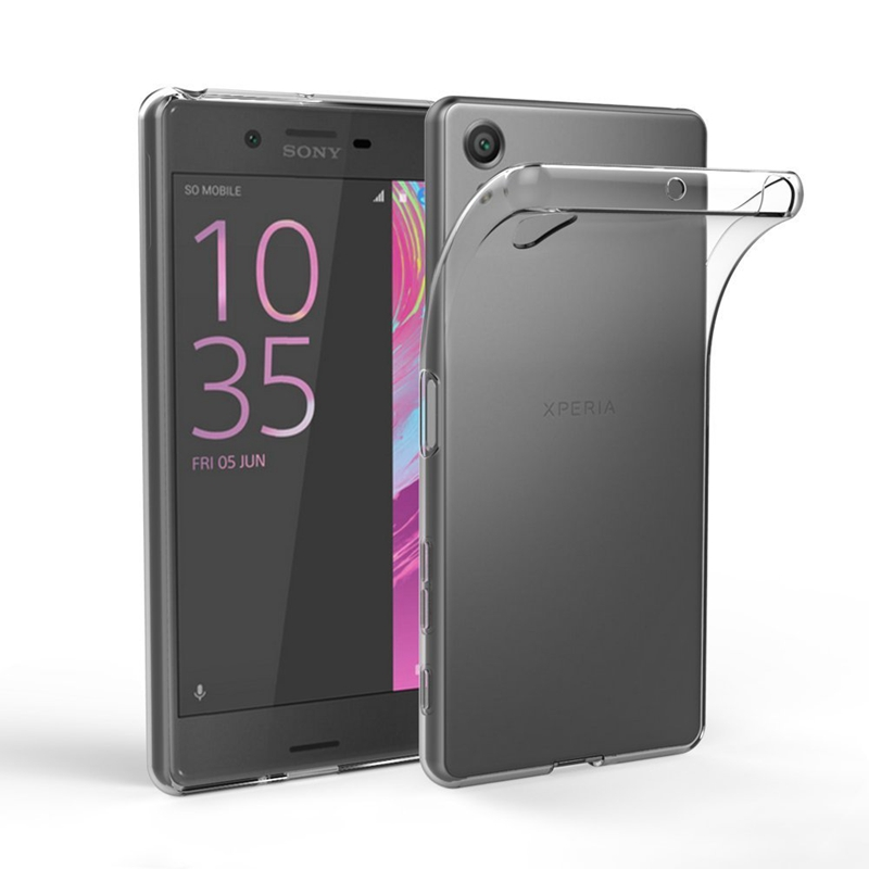 Case Transparent For <strong>Sony</strong> Xperia XZ1 XZs Z5 Compact XA1 Ultra Plus X XA XZ XZ Premium Plus L1 Z3 Soft TPU Cover