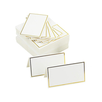 Place Cards Wedding Table Decor Table Name Message Greeting Card Event Party Seating Card