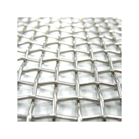 Factory Price Stainless Steel Crimped Woven Wire Mesh