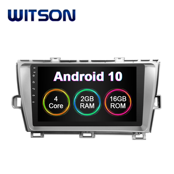 WITSON Android 10.0 Car Auto Radio DVD GPS For TOYOTA 2012 PRIUS (LHD) Built In 2GB RAM 16GB FLASH BIG SCREEN in car dvd player